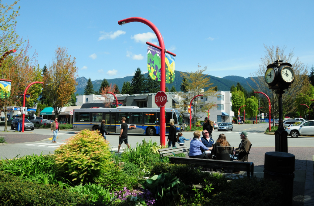 Check out Edgemont Village in North Vancouver BC Canada