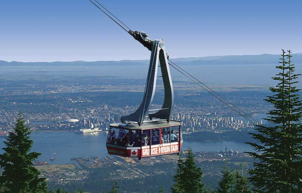 Grouse Mountain North Vancouver British Columbia Canada