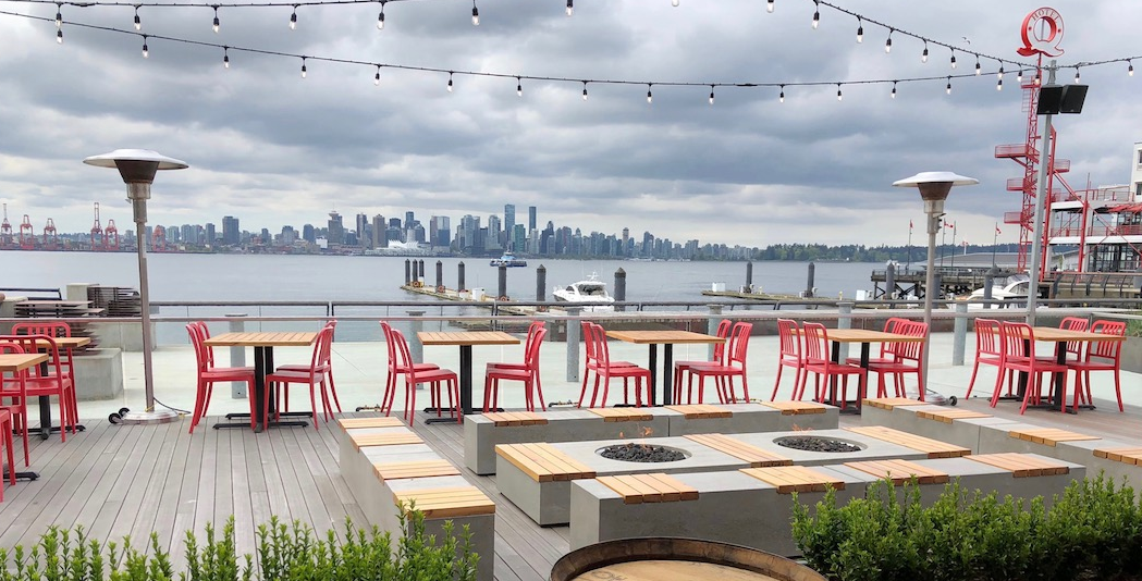 Tap and Barrel in Lower Lonsdale Quay Waterfront North Vancouver BC Canada